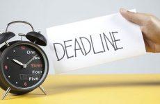 Trong deadline tồn tại 2 trường phái riêng biệt