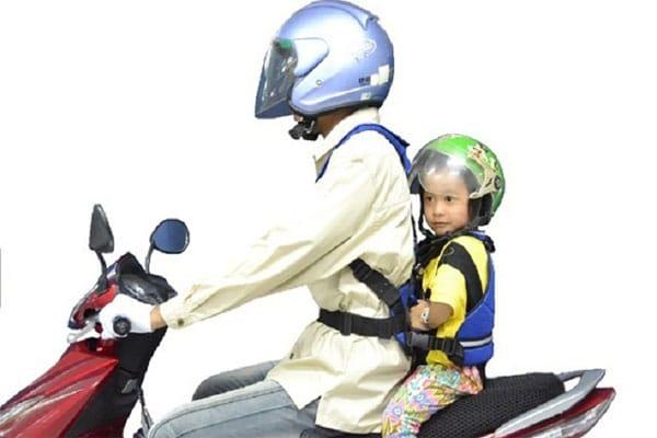 Đai giữ bé giúp phụ huynh điều khiển an tâm hơn