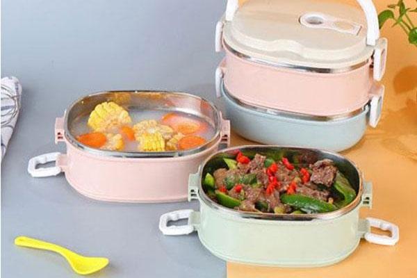 Dùng các loại hộp cơm giữ nhiệt chất lượng để đảm bảo sức khỏe