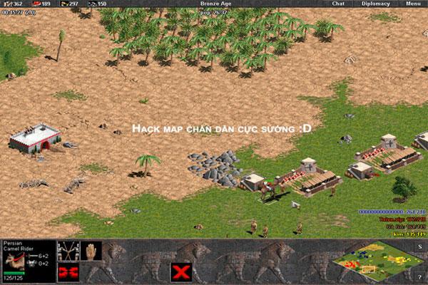 Hack Đế chế mang lại nhiều cảm xúc thú vị cho người chơi