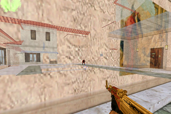 Giúp người chơi nhìn xuyên tường