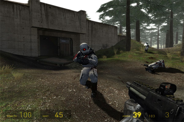 Half life 2 là tựa game nhận vai 3D rất cuốn hút