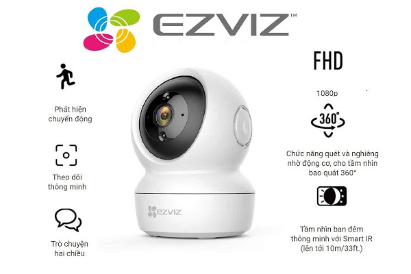 Camera 360 Wifi Ezviz CS-C6N (A0-1C2WFR)