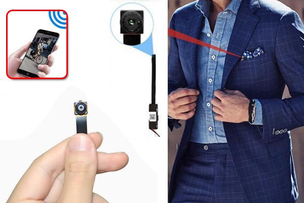 Camera giấu kín siêu nhỏ rất tiện lợi giúp bạn làm việc nên được ưa chuộng