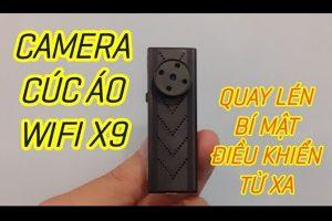 Camera ngụy trang cúc áo X9