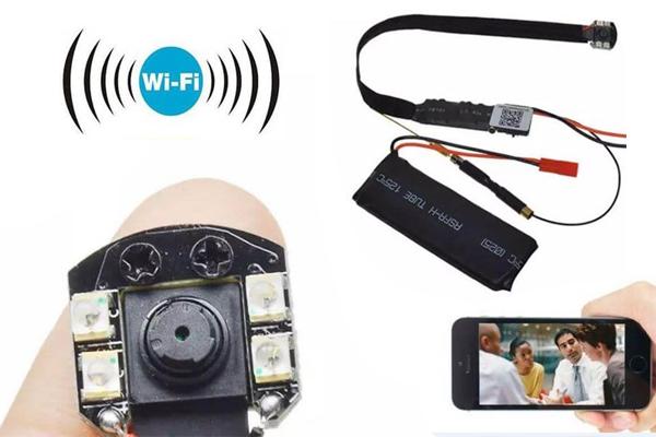 Camera quay lén siêu nhỏ wifi IP S09