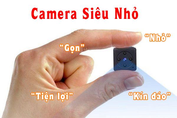 Camera siêu nhỏ dùng nhiều nhất cho các mục đích theo dõi, giám sát và ghi lại những diễn biến một cách bí mật nhất mà người bị theo dõi hoặc kẻ xấu không thể phát hiện ra.