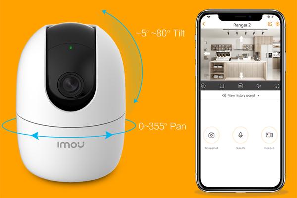 Camera wifi không dây DahuaDH-IPC-A22EP-IMOU