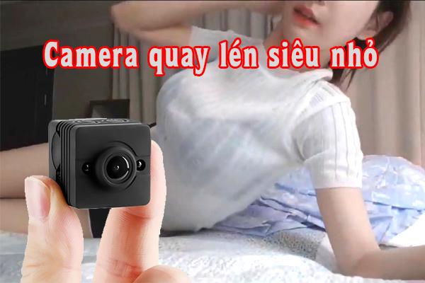 Dùng camera quay lén bạn có thể theo dõi, giám sát đối tượng trực tiếp tại vị trí cách xa nơi gắn camera một cách kín đáo, bí mật