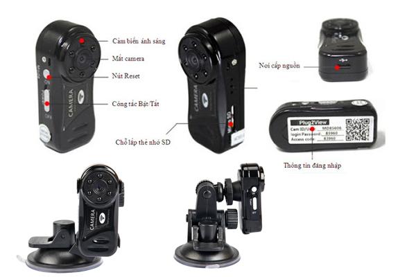 MD81S-6 là một trong những dòng camera giấu kín siêu nhỏ có pin khủng nhất hiện nay