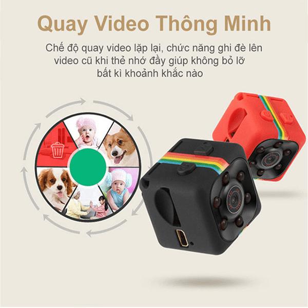 Bộ Camera mini SQ11 được dùng làm camera hành trình hoặc theo dõi nhà cửa,concái