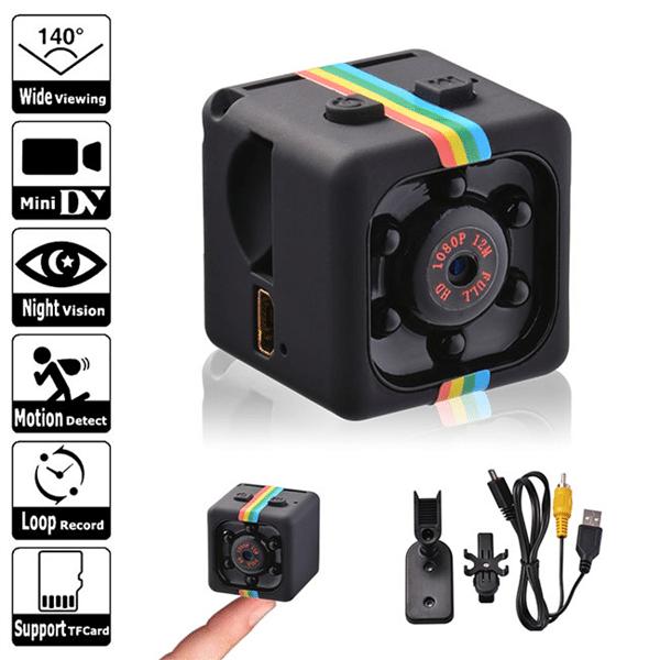 Camera mini siêu nhỏ SQ11 được trang bị nhiều tính năng hiện đại