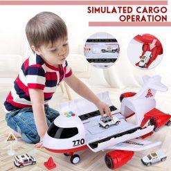 Bộ đồ chơi máy bay cứu thương Acksonse