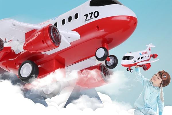 Bộ đồ chơi xe máy bay giúp bé thỏa sức khám phá