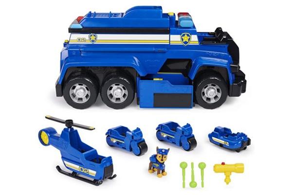 Bộ xe cảnh sát biến hình giải cứu siêu hạng Chase