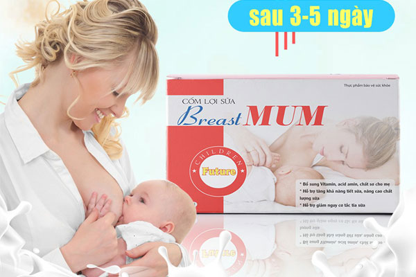 Cốm lợi sữa BreastMum