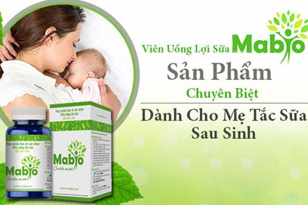 Cốm lợi sữa Mabio
