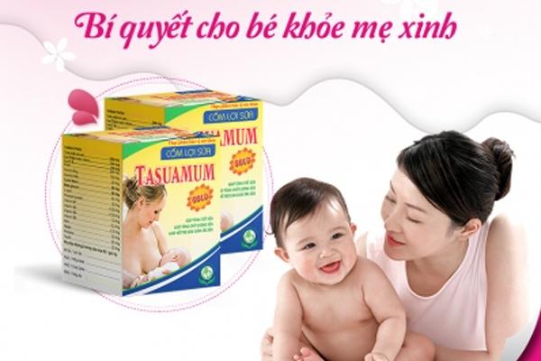 Cốm lợi sữa Tasuamum Gold