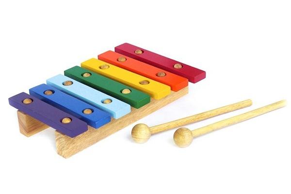 Đồ chơi âm nhạc đàn mộc cầm 7 thanh