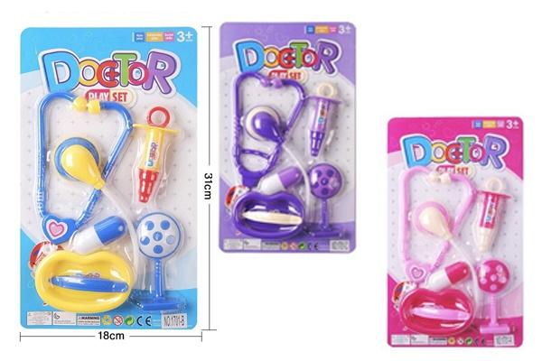 Vỉ đồ chơi bác sĩ Baby Doctor với nhiều màu sắc đa dạng