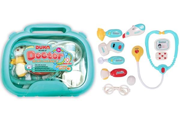 Bộ đồ chơi bác sĩ cho trẻ em Duka