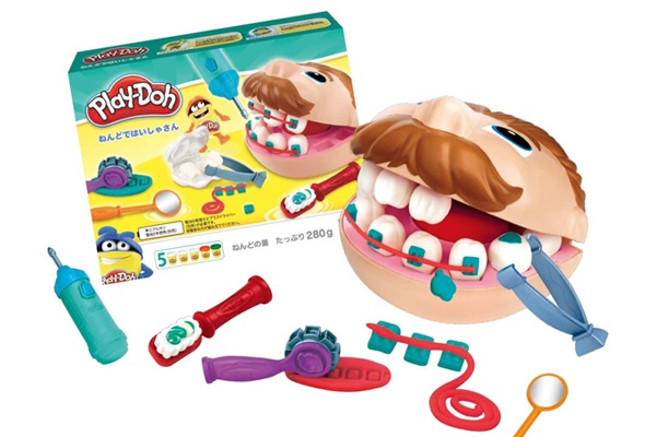 Đồ chơi bác sĩ khám răng Play-Doh