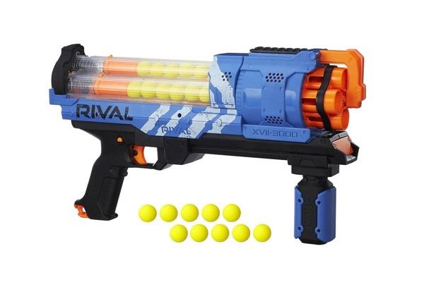 Đồ chơi bắn súng là loại đồ chơi được nhiều bé trai yêu thích