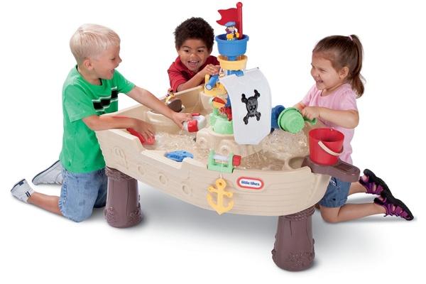 Đồ chơi cát nước và mô hình tàu Little Tikes