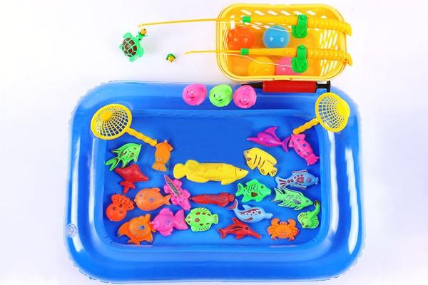 Đồ chơi câu cá bể phao bơm hơi được nhiều ba mẹ lựa chọn