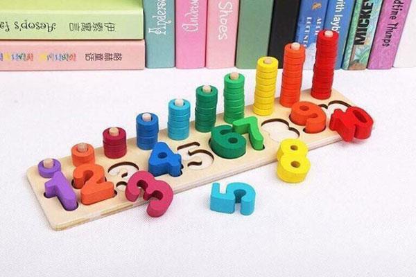 Bộ đồ chơi học toán bằng gỗ