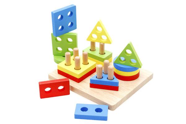 Đồ chơi gỗ xếp hình thông minh
