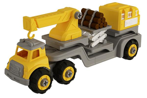 Bộ đồ chơi lắp ráp xe Vecto Diy 3 trong 1