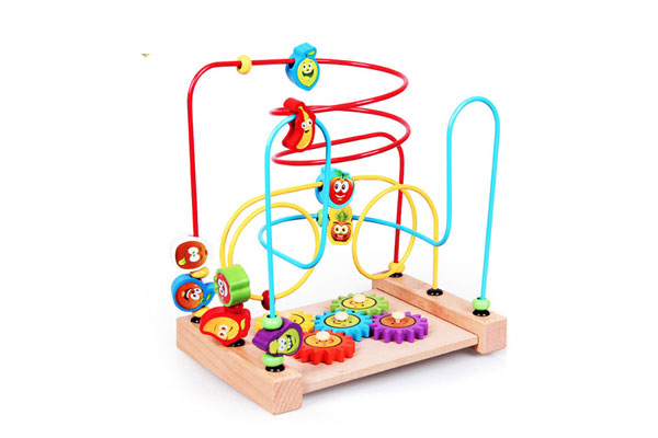Bộ đồ chơi luồn gỗ