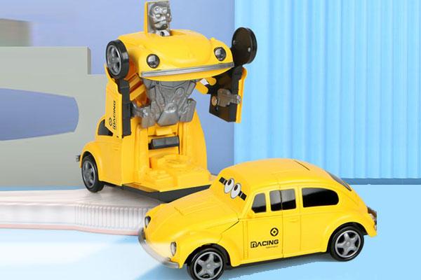 Robot đồ chơi biến hình xe BBT Global 66105