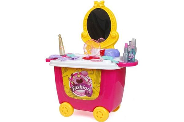 Bộ đồ chơi trang điểm Bowa dạng xe đẩy