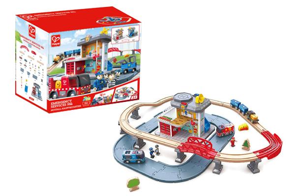 Đồ chơi xe lửa thú xinh hình đoàn tàu Hape E3807A