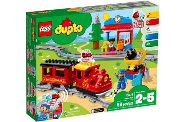 Đồ chơi xe lửa lắp ghép Lego City Duplo giúp bé thỏa sức sáng tạo