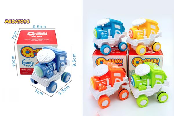 Bộ đồ chơi xe lửa nhào lộn 360 độ được thiết kế nhỏ gọn