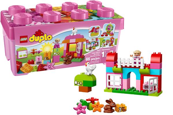 Đồ chơi xếp hình Lego Duplo all in One Pink Box of Fun