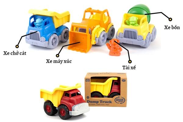 Xe chở cát đồ chơi Green Toys