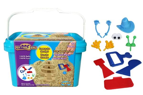 Bộ đồ chơi xúc cát tạo hình Motion Sand MS-19