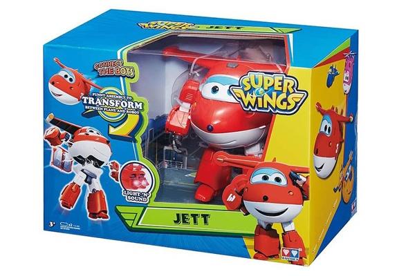 Máy bay biến hình Jett được nâng cấp lên nhiều phiên bản mới