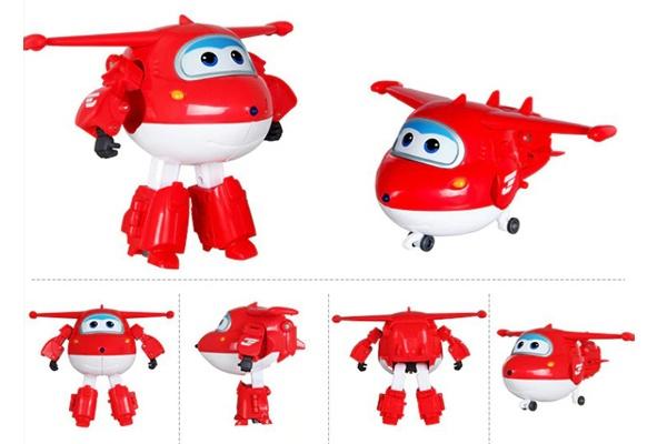 Máy bay biến hình Jett được chuyển đổi thành robot chỉ với 3 bước đơn giản