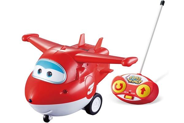 Robot máy bay biến hình Jett với thiết kế đơn giản, màu sắc rực rỡ