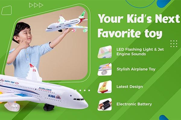 Máy bay mô hình A380 là món quà yêu thích dành cho trẻ nhỏ