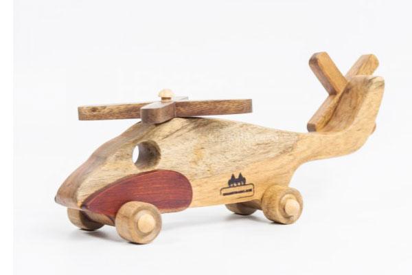 Bộ lắp ráp mô hình máy bay bằng gỗ