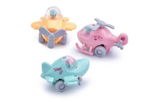 Máy bay đồ chơi mini chạy bằng cót