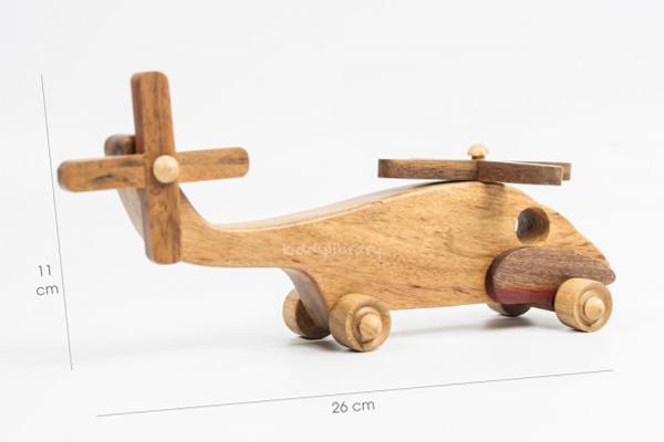 Máy bay được thiết kế đơn giản, nhỏ gọn