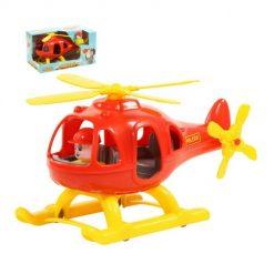 Máy bay trực thăng đồ chơi Bumblebee Polesie - màu đỏ