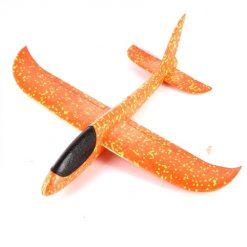 Đồ chơi máy bay xốp phi tay - màu cam